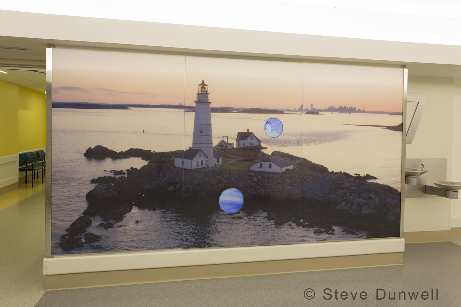 Little Brewster Island, Boston Lighthouse © Steve Dunwell