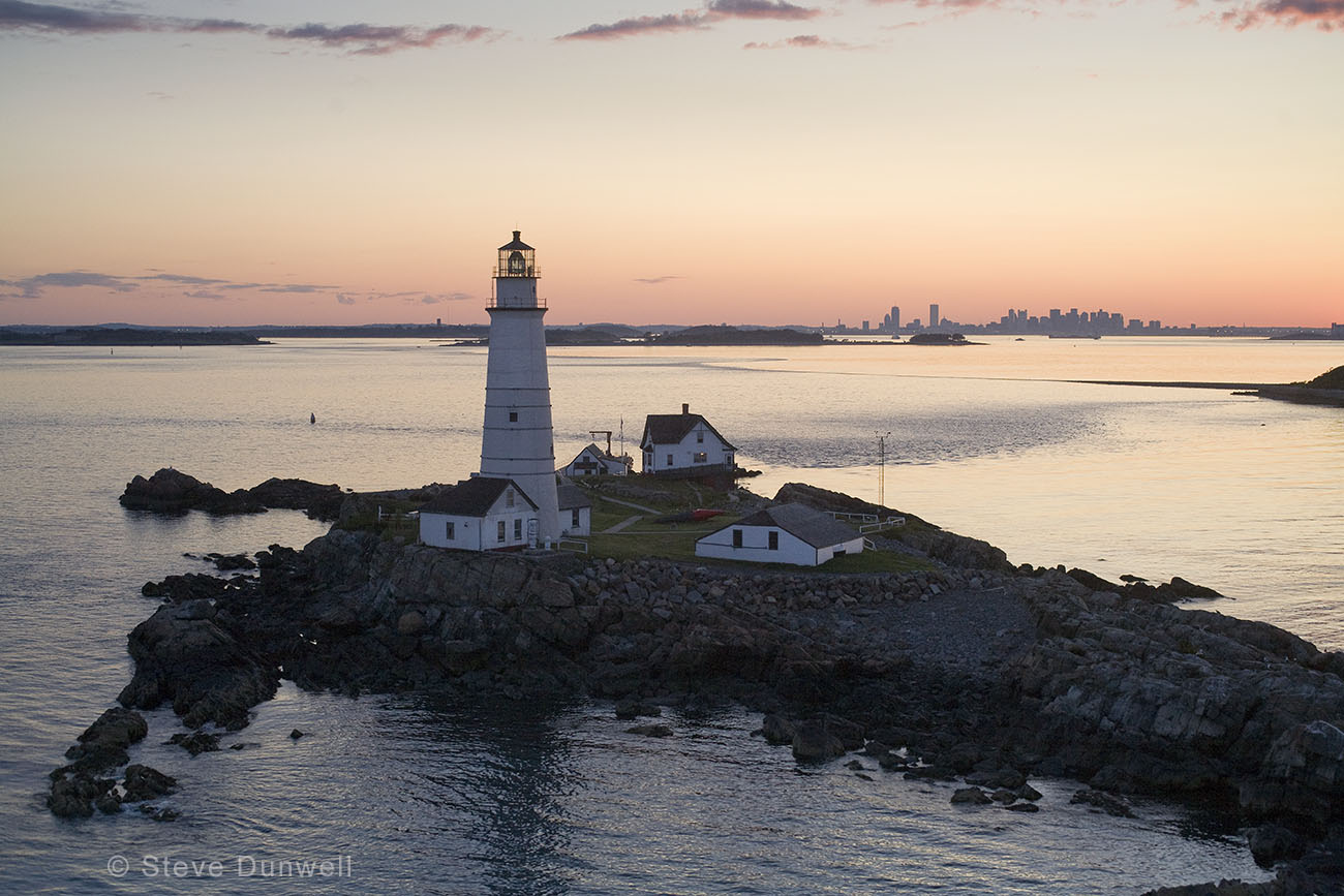 300th anniversary of Boston Lighthouse.  The original structure was destroyed by storm, later structures by fire & war, so this one dates from 1783.