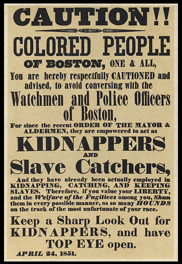 Fugitive Slave Act, 1850