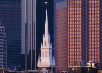 Old North Church steeple, Boston, MA